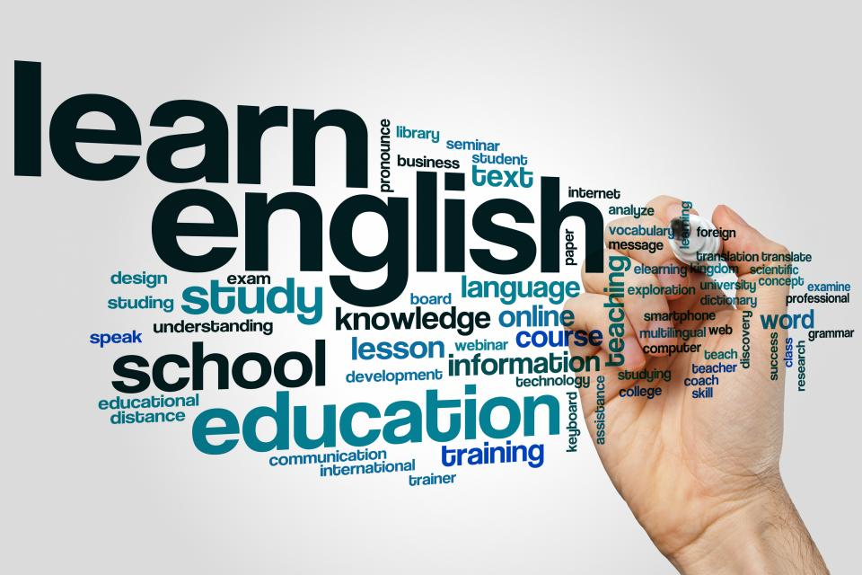 English language with Online Course for beginner