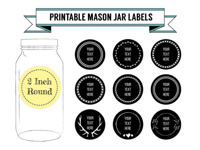 Custom Printed Jar Labels