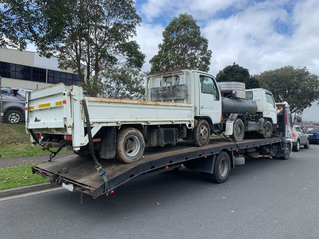 broken truck removal